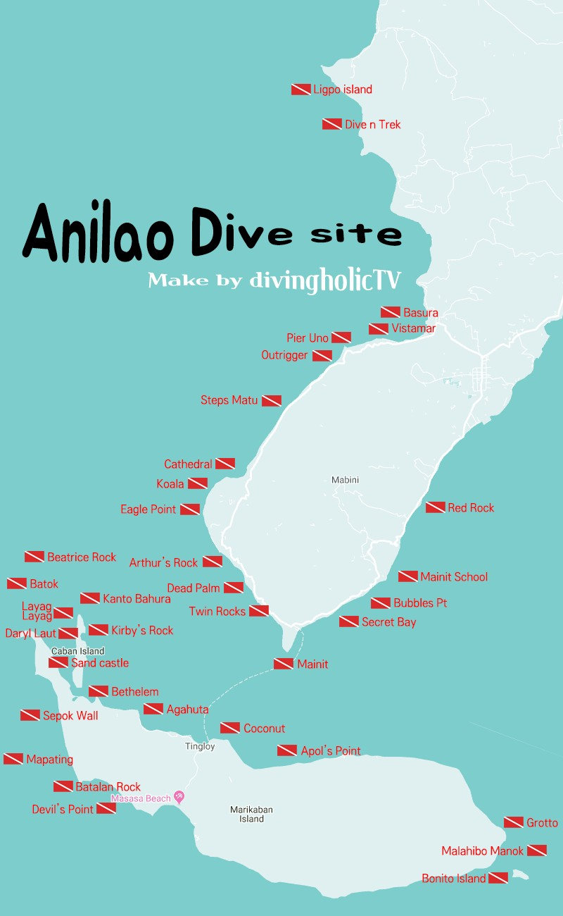 anilao diving point